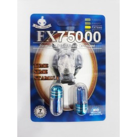 FX 75000 Platinum 3D (6 pill pack)