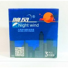 Night Wind Condoms - 3 Pack