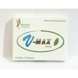 V-Max Blue Pill - 4 Pill Pack